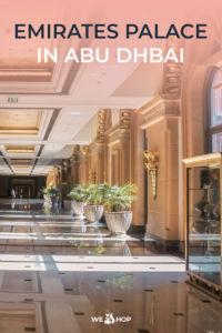 Pinterest Emirates Palace in Abu Dhabi