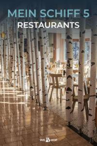 Pinterest Mein Schiff 5 Restaurants