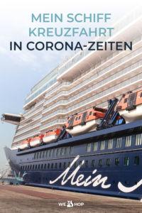 Pinterest Mein Schiff Kreuzfahrt in Corona-Zeiten