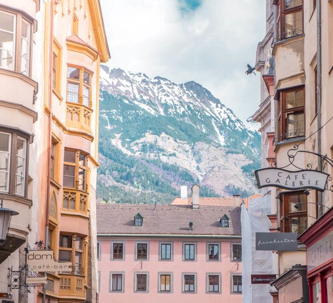 Ausflug nach Innsbruck Altstadt