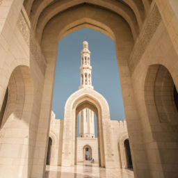 Sultan-Qabos-Moschee in Muscat