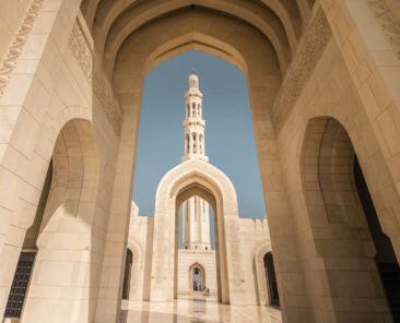 Sultan-Qabos-Moschee in Maskat